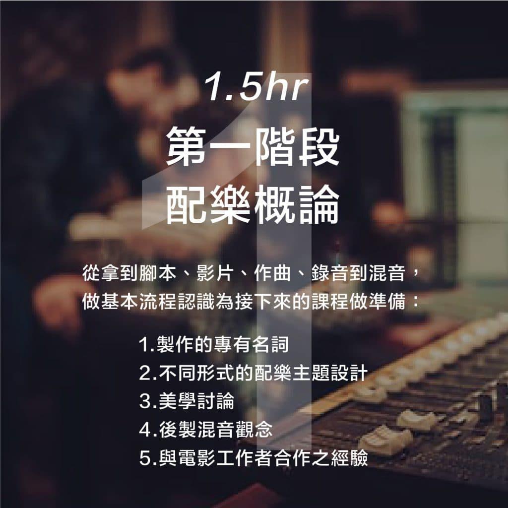 中心主辦:《從無到有-18小時配樂作曲工作坊》 1