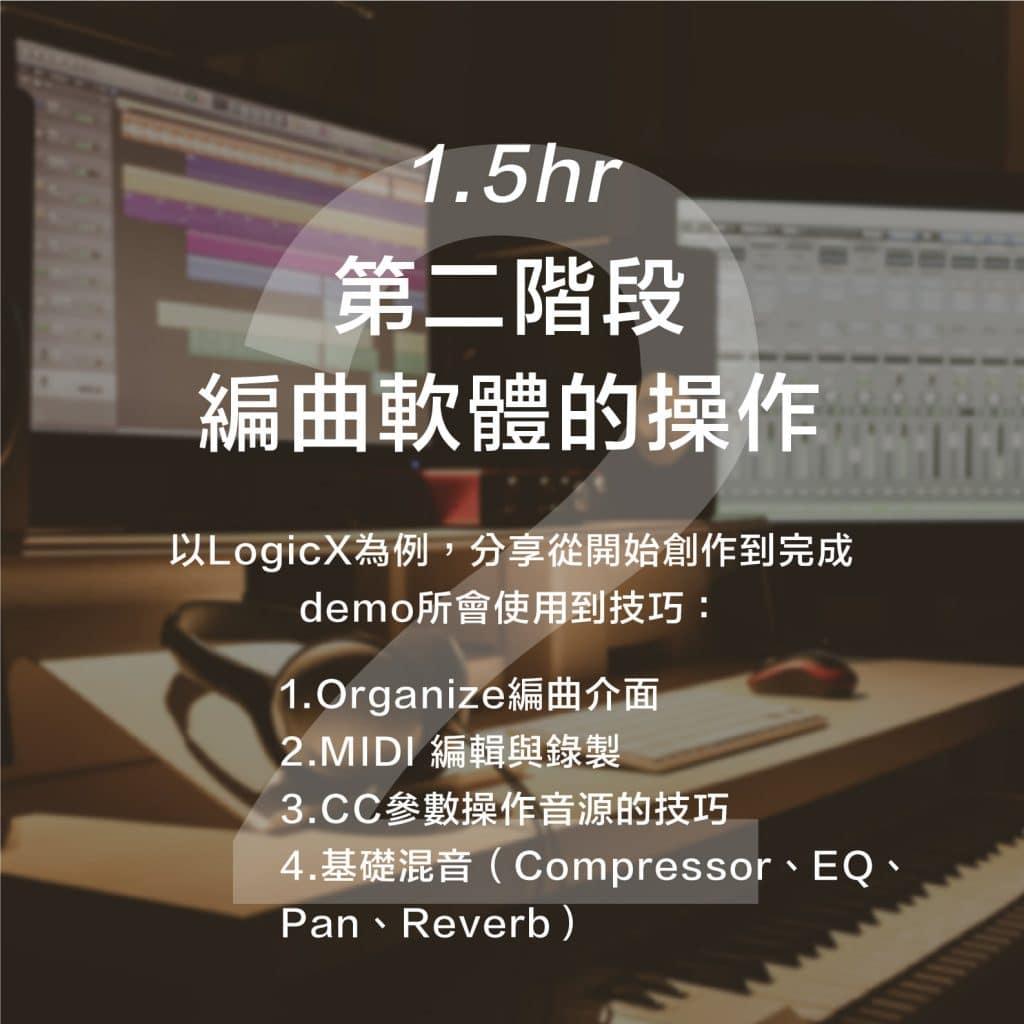 中心主辦:《從無到有-18小時配樂作曲工作坊》 2