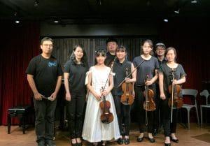 吳建鋒老師學生《品蓁、緁寧小提琴獨奏會系列》圓滿成功👏